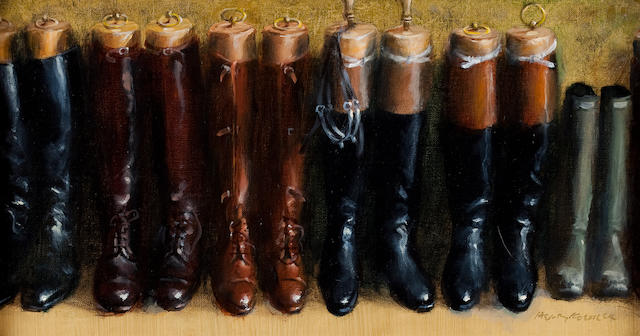 Henry Koehler (American, born 1927) Boot Collection