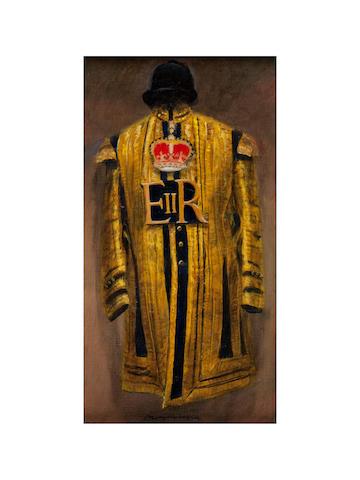 Henry Koehler (American, born 1927) Household Cavalry Musician Full Dress