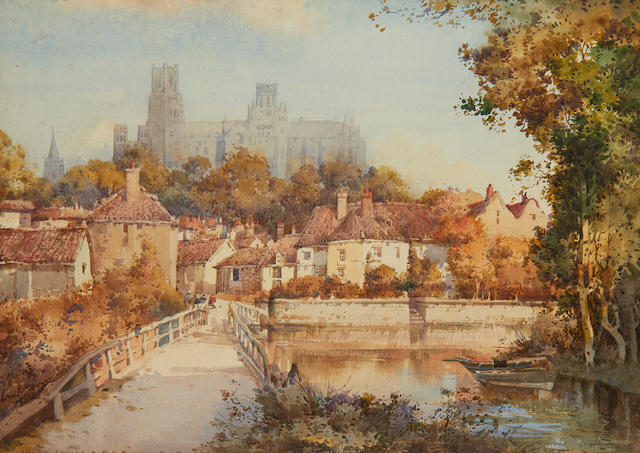 w/c Ely Cathedral by Noel Leaver