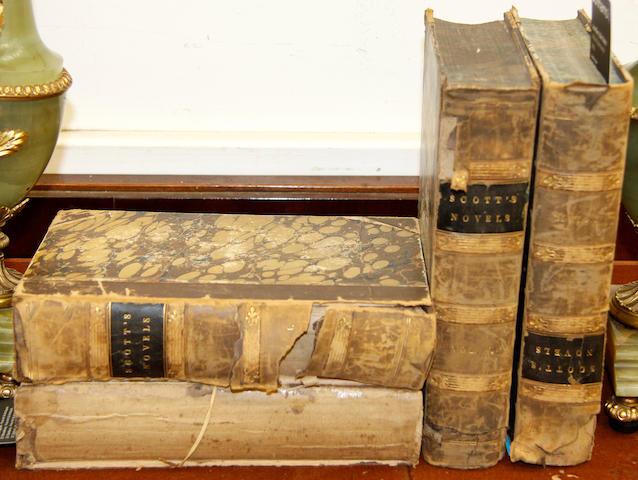 Scott, Sir Walter: Waverley Novels Vols I,II, III & V, Cadell, Edinburgh 1843/5 (4)