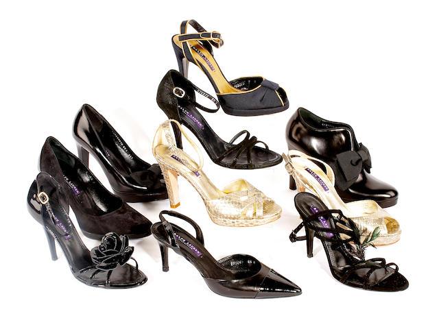 Ten pairs of Ralph Lauren shoes