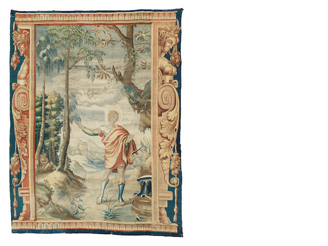 A late 17th/early 18th century Mortlake tapestry