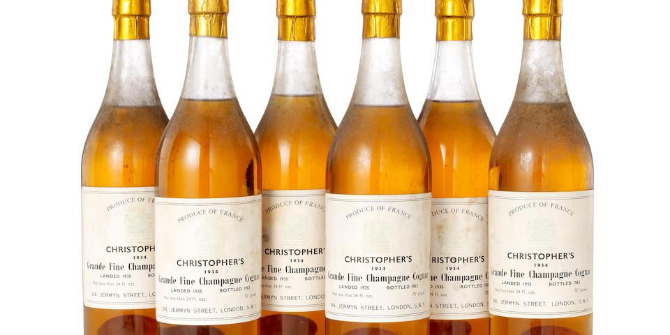 Christopher's Grande Fine Champagne Cognac 1934 (6)