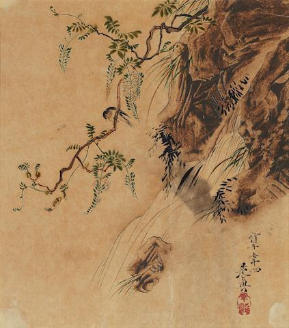 Shibata Zeshin (1807-1891) Dated 1881