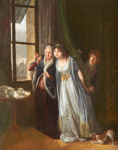 Michel Garnier (Saint-Cloud 1753-1819) The illicit letter