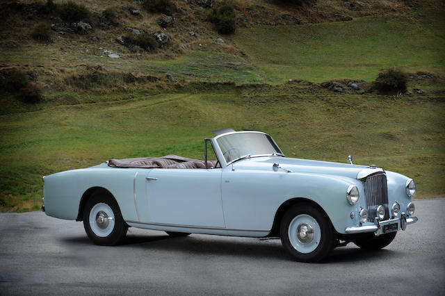 1949 Bentley Mark VI 4.5 liters coachwork by Graber,