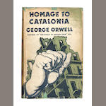 ORWELL (GEORGE) Homage to Catalonia, FIRST EDITION, dust-jacket, 1938