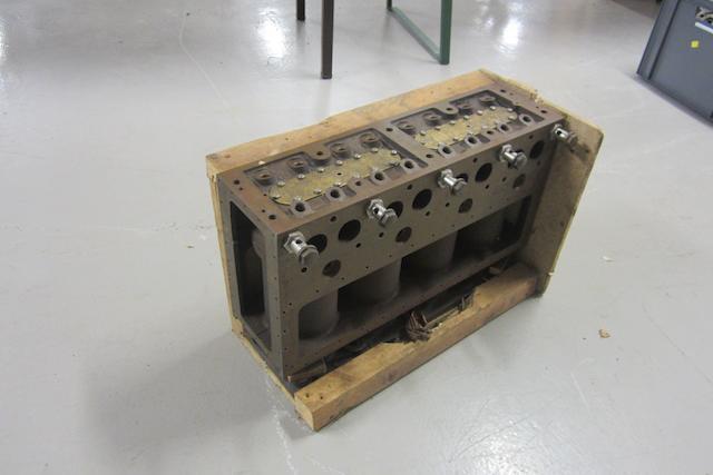 A 4 ½ Litre Bentley cylinder block,