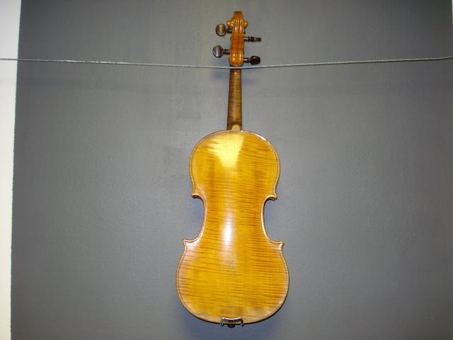 A French Violin attributed to Honore Derazey circa 1870 (1)