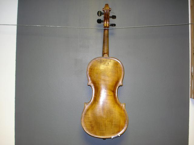 A Czech Viola attributed to Johan Christian Voigt, Prague, circa 1800 (2)