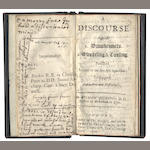 ASSHETON (WILLIAM, rector of Beckenham in Kent) A Discourse against I. Drunkeness. 2. Swearing & Cursing. Published (Pursuant to his Majesty's Injunctions) to Suppress Debaunchery and Profaneness, 1693; bound with another