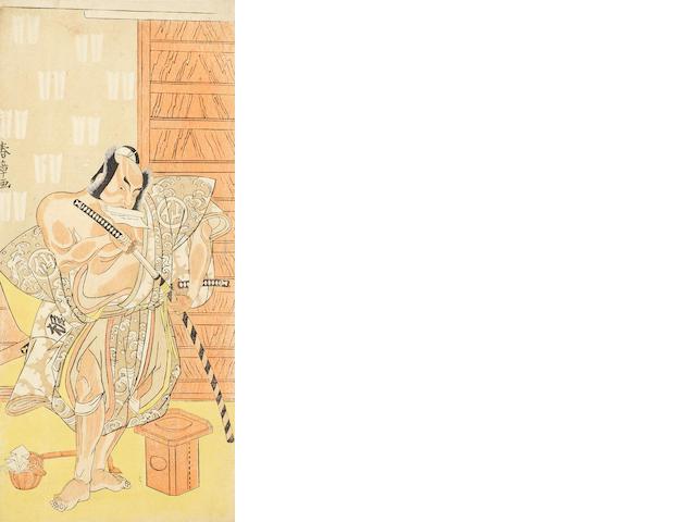 Katsukawa Shunsho (1726-1792) Late 18th century