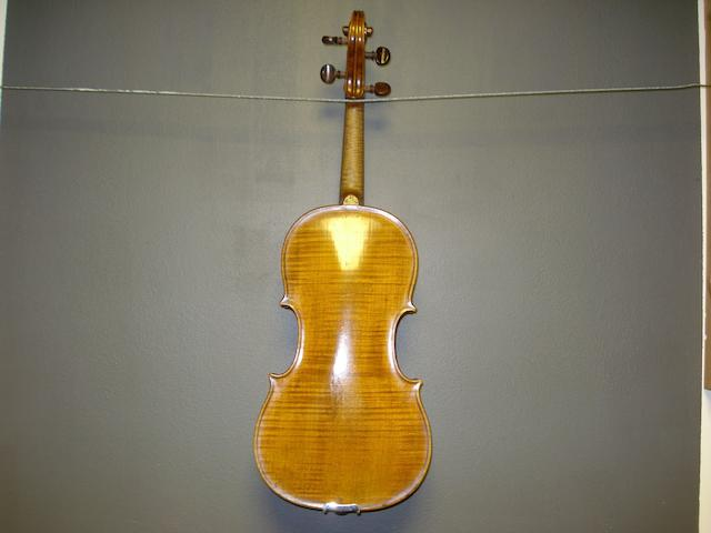 An Irish Violin by Thomas Perry, Dublin, 1789 (2)