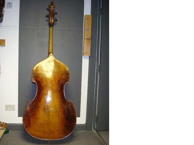 A German chamber Bass attributed to Glaesel & Mossner, circa 1930 (2)