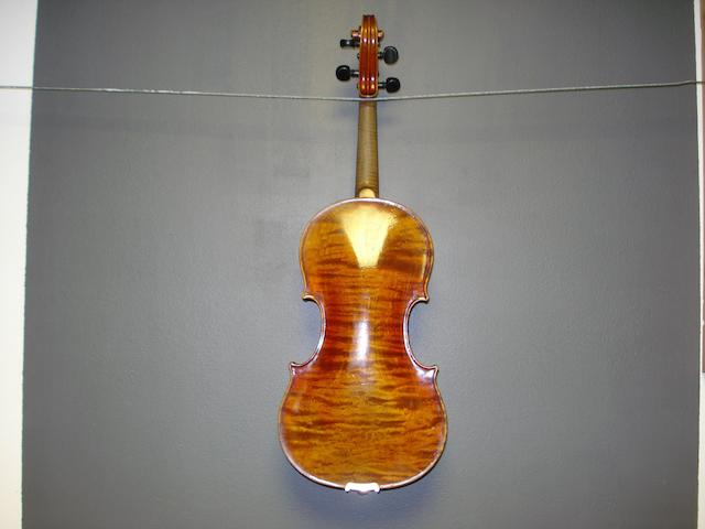 A German Violin of the Munich School,  1900 (3)