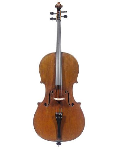 A French Cello by Nicolas Vuillaume, Paris, 1842 (2)