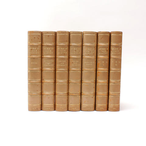 BINDINGS AUSTEN (JANE) The Novels...Based on Collation of the Early Editions by R.W. Chapman. 5 vol.