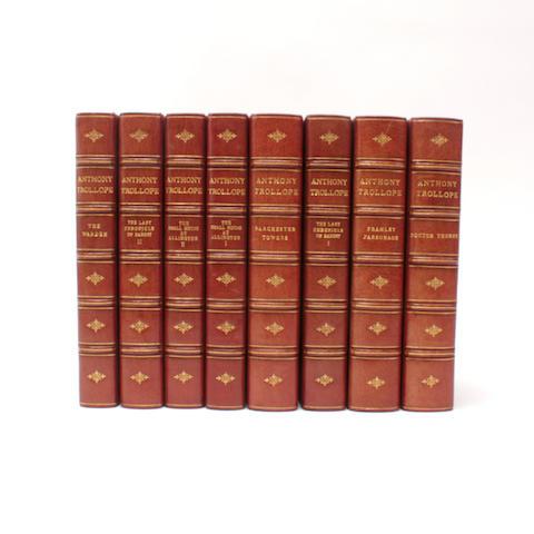 BINDINGS TROLLOPE (ANTHONY) The Barsetshire Novels, 8 vol.