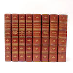 BINDINGS TROLLOPE (ANTHONY) The Barsetshire Novels, 8 vol.
