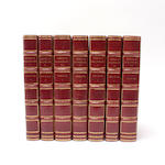BINDINGS LOCKHART (J.G) Memoirs of Sir Walter Scott, 5 vol.