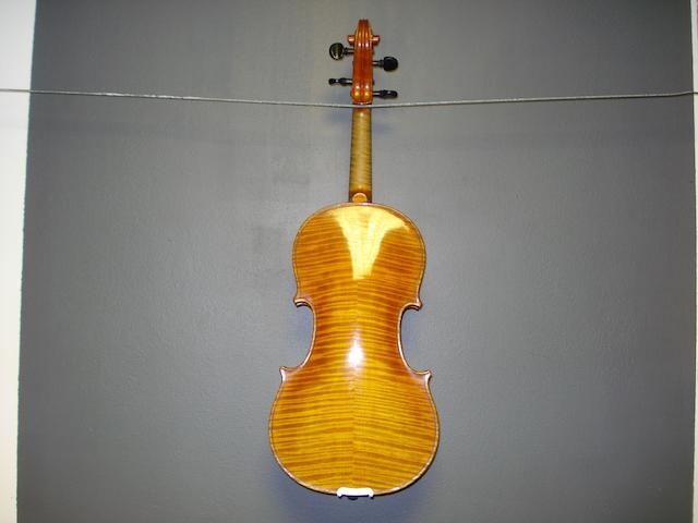 A Violin of the Langonet School circa 1900 (3)