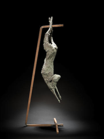 Dame Elisabeth Frink R.A. (British, 1930-1993) Dead Rabbit 101.4 cm. (39 3/4 in.) high (including base)