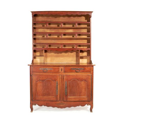 A French Provincial 18th century walnut dresser