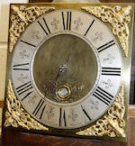 A 30 hour longcase clock,  The ten inch brass dial signed Charles Cooper, Malpas