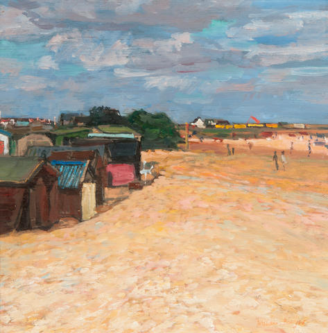 William Bowyer RA (British, born 1926) The Beach, Walberswick