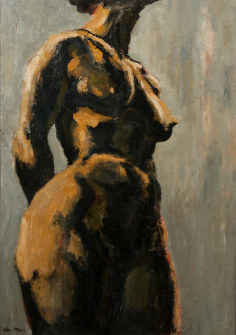 Colin Moss (British, 1914-2005) Standing female nude