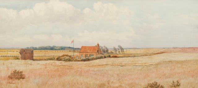 Charles Harmony Harrison (British, 1842-1902) Cotage at Caistor-On-Sea