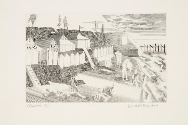 Edward Bawden R.A. (British, 1903-1989) 'Clacton'