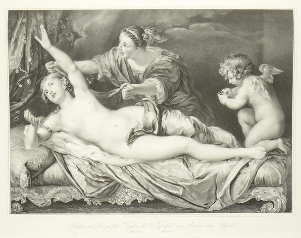 DRESDEN ROYAL GALLERY. Die vorzüglichsten Gemälde der könighlichen Galerie in Dresden, vol. one and 2, 1836