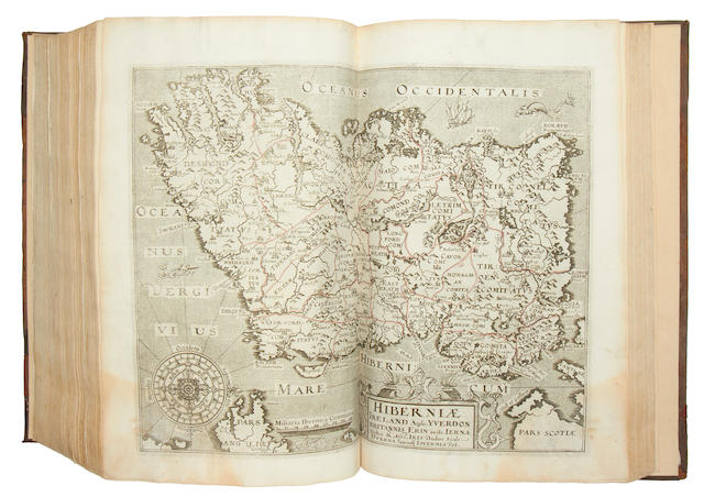MAPS AND ATLASES. CAMDEN (WILLIAM) Britain, or a Chorographicall Description of the Most Flourishing Kingdomes..., 1610