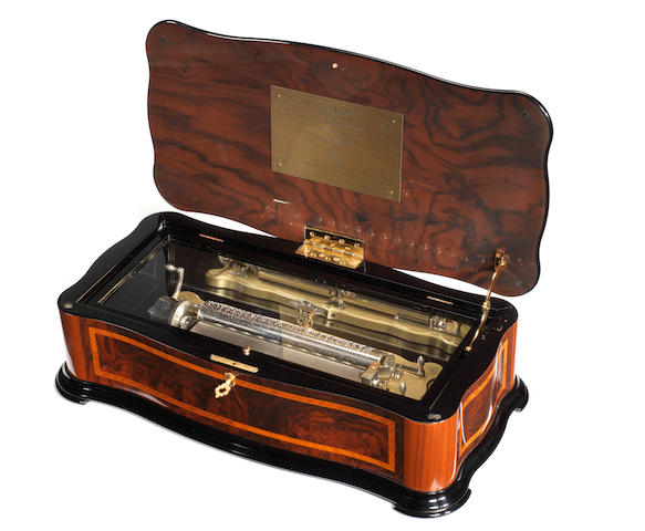 A Sublime-Harmony 'Cartel' musical box, by Reuge, circa 2000,