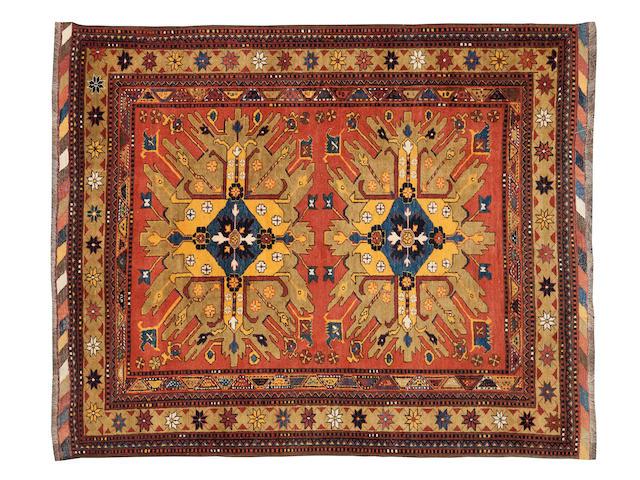 """A Chelaberd rug 235cm x 190cm (7'9"""" x 6'3"""")."""