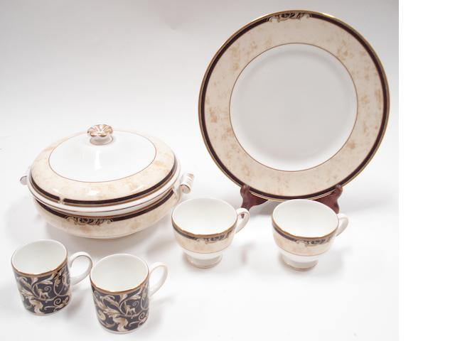 A modern Wedgwood dinner, tea and coffee service