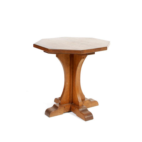 A Thomson of Kilburn oak table