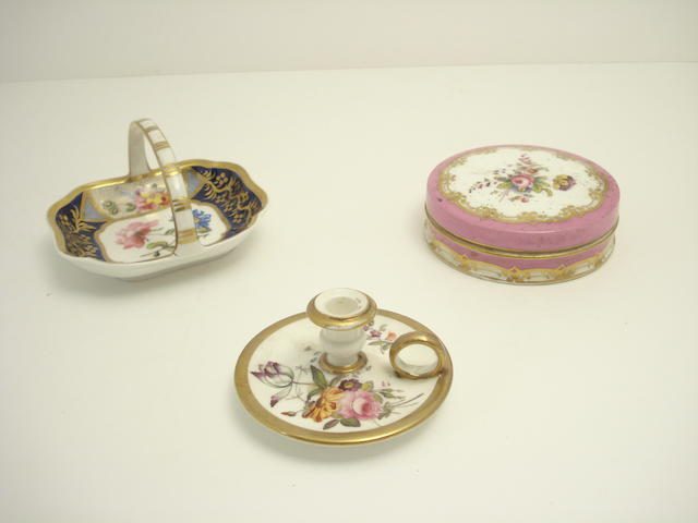An English miniature chamberstick Circa 1820