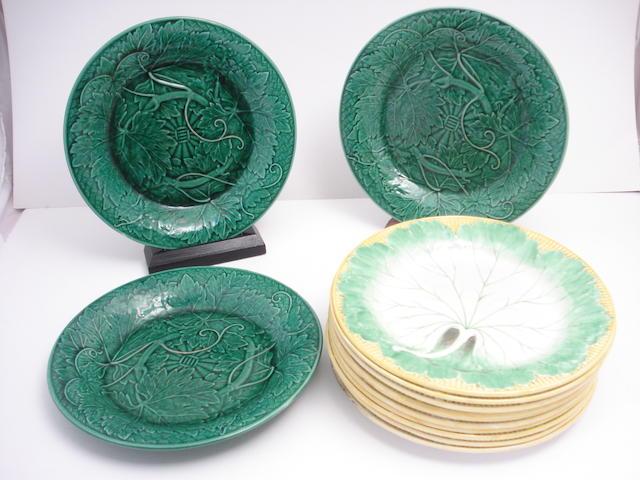 Eleven Wedgwood plates Circa 1880