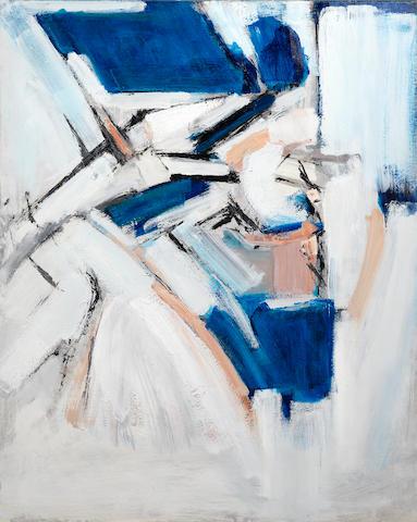 Adrian Heath (British, 1920-1992) Untitled 127 x 101.7 cm. (50 x 40 in.) (unframed)