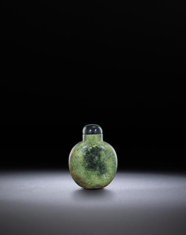 A hardstone snuff bottle