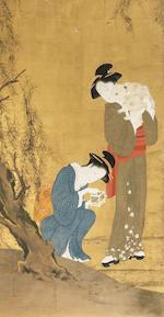 After Katsukawa Shunsho Meiji period