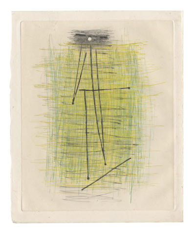 PICASSO (PABLO) ARTAUD (ANTONIN) ...Autre chose que de l'enfant beau, NUMBER 84 OF 120 SIGNED BY THE ARTIST, Paris, Louis Broder, [1957]