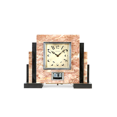 Atmos marble clock - CHECH WITH JAMES