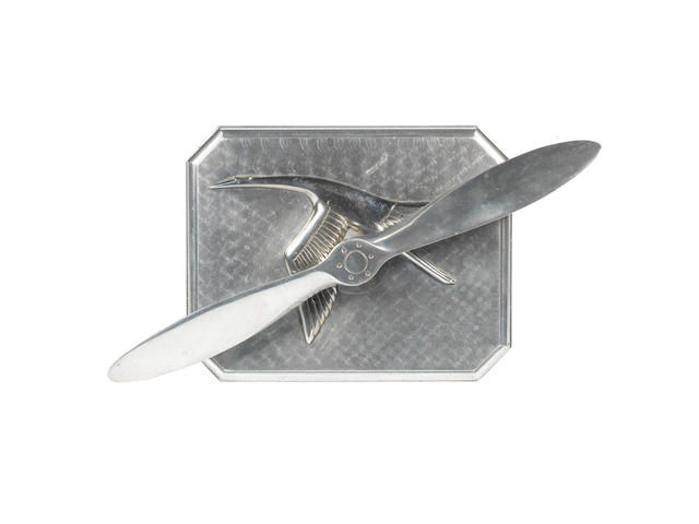 An Hispano-Suiza aviation deskpiece,