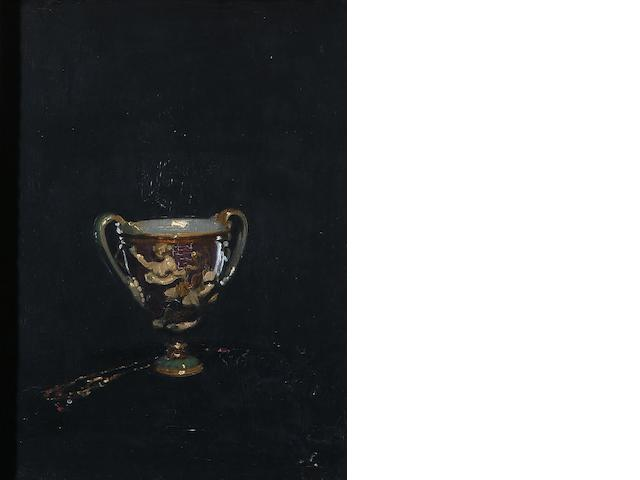 William Nicholson, The Canticelli Vase - oil
