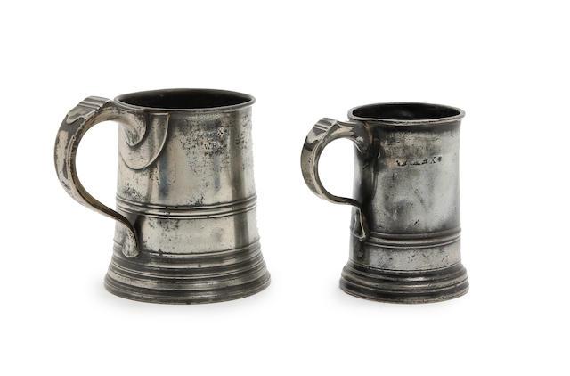 A Pre-Imperial pint mug, circa 1812