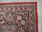 A Mahal carpet, West Persia, 585cm x 425cm