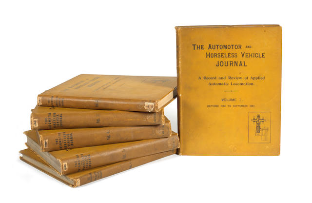 The Automotor & Horseless Vehicle Journal, Volumes 1 - 6, October 1896 - March 1902,